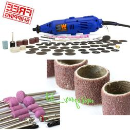 100 PIECE Accessories Dremel Set Variable Speed Rotary Cutte