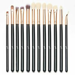 12 PCS Eye Brush Set Makeup Eyeliner Eyeshadow Brushes Profe