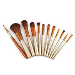 12pcs Pro Makeup Brushes Set Foundation Powder Eyeshadow Eye
