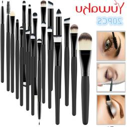 20pcs Makeup Brush Set Face EyeShadow Eyeliner Foundation Bl