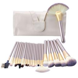 24pcs Pro Makeup Brushes Cosmetic Tool Kit Kabuki Make up Po