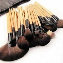 32pcs Makeup Brushes Set Tools Pro Foundation Eyeshadow Eyel