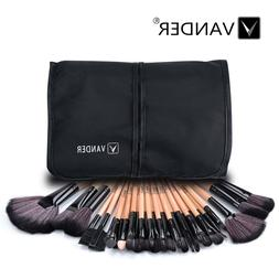 VANDER 32pcs Makeup Brushes Soft Cosmetic Eyebrow Shadow Bru