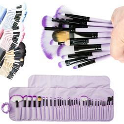 32Pcs Makeup Brushes Set Eyeshadow Lip Powder Concealer Blus
