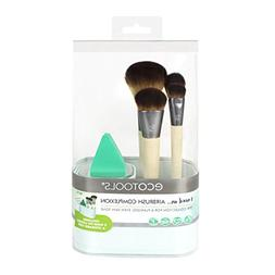 EcoTools Airbrush Complexion Kit, Includes 1 Makeup Wedge, 4