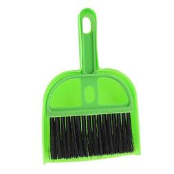 QINF Desktop Table Cleaning Mini Dustpan with Brush Set
