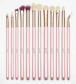 Qivange Eye Makeup Brushes Eyeshadow Concealer Eyeliner Brus