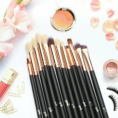 12 Set Eyeshadow Brushes Professional