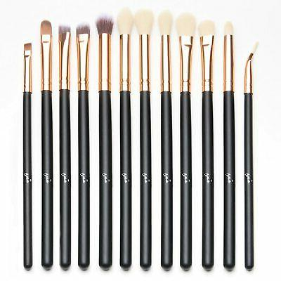 12 Set Eyeliner Eyeshadow Brushes