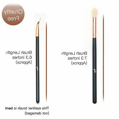 12 Eye Brush Set Eyeliner Brushes Professional