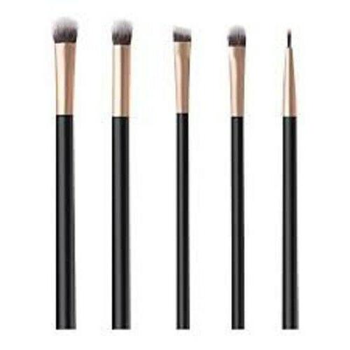 5 pc makeup brush set eyeshadow liner