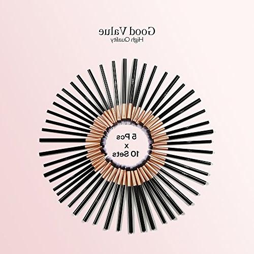 50pcs Eye Makeup - Makeup X Set Blending Brush, Included – Brushes for Your Look