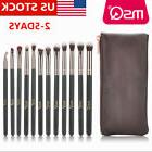 US DELIVERY 12/15PCs Pro Eyeshadow Makeup Brush Sets Eye Sha
