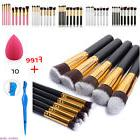 Women Makeup 1/10pcs Brushes Set Powder kabuki Foundation Ey