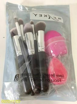 BEAKEY Makeup Brushes Set Premium Synthetic Kabuki Foundatio