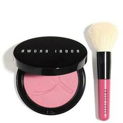 Bobbi Brown Pink Peony Illuminating Bronzing Powder and Brus