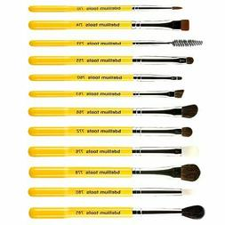 Bdellium Tools  Studio Line  Eyes Brush Set and Pouch  12 Pc