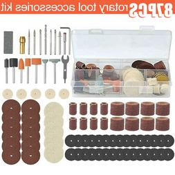US Rotary Tool Accessories Kit Set Tool Bits Saw Wire Brush